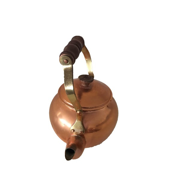 Vintage Copper Kettle - Image 3 of 4