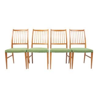 Mid-Century Danish Modern Oak Dining Chairs- Set of 4