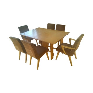 Heywood Wakefield Extension Table Dining Set