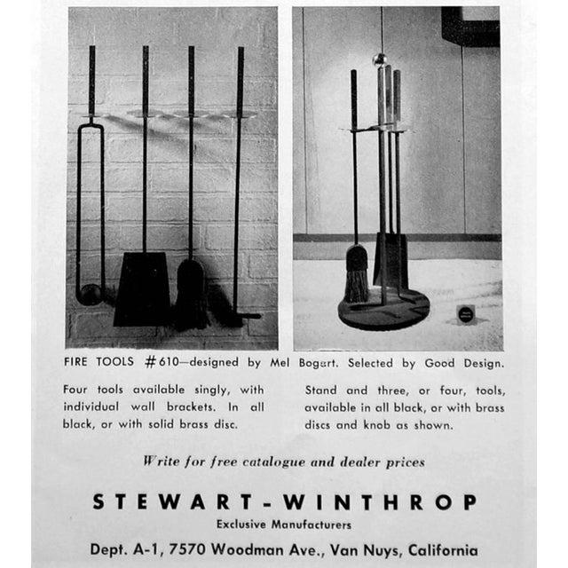 Mel Bogart 1950s Fire Tool Set - Image 7 of 7