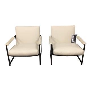 "Rodolfo Dordoni ""Atlan"" Chairs for Minotti - A Pair"