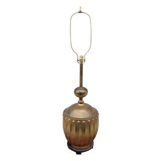 1960s Modern Large Brass Stiffel Lamp Rare