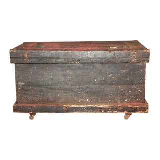 Wooden Black Trunk