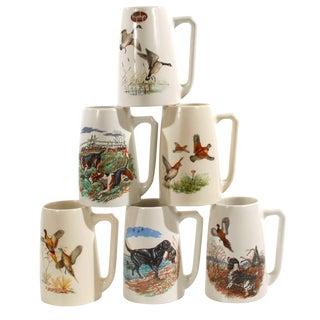 Hyalyn Hunting Mugs - Set of 6