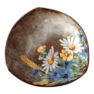 Alexandre Kostanda French Art Pottery Bowl