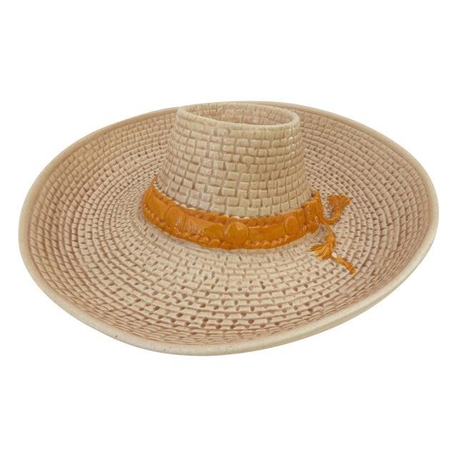 Image of Sombrero Ceramic Chip & Dip Set