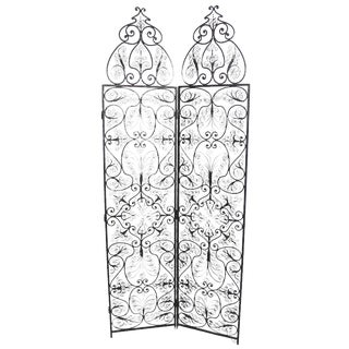Moroccan Wrought Iron Room Screen