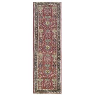 Vintage Persian Tabriz Rug - 3'3''x16'6''