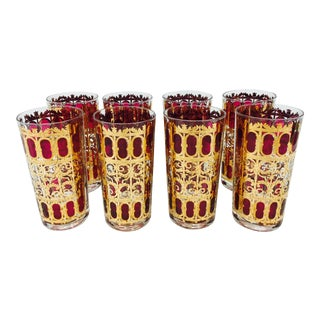 Mid-Century Culver Cocktail Glasses