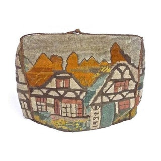 Vintage Cotswold Style Needlepoint Tea Cosy