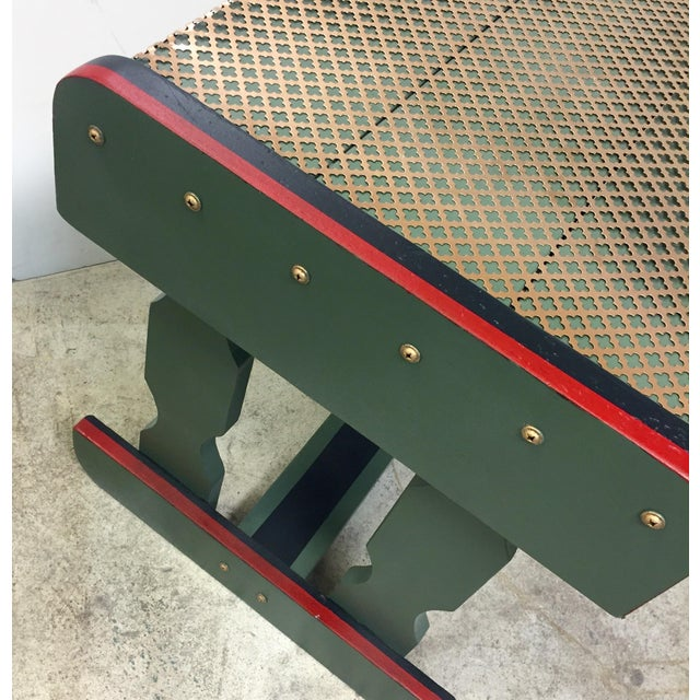 Gucci Inspired Side Tables - A Pair - Image 4 of 11