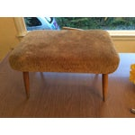 Image of Mid Century Professionally Reupholstered Ottoman