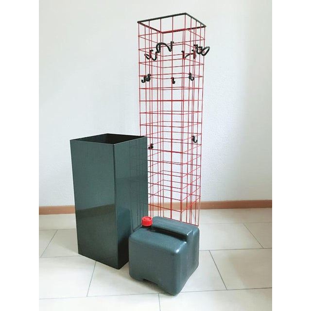 1979 Anna Castelli for Kartell Postmodern Coat Rack & Planter - Image 2 of 3