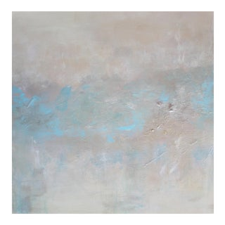 Abstract Textured Pearl Painting