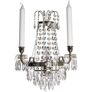 Nobel Crystal Sconce Chandelier