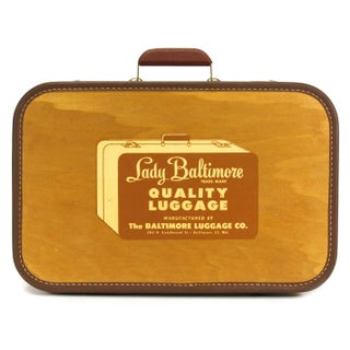 Vintage Salesman's Sample Suitcase