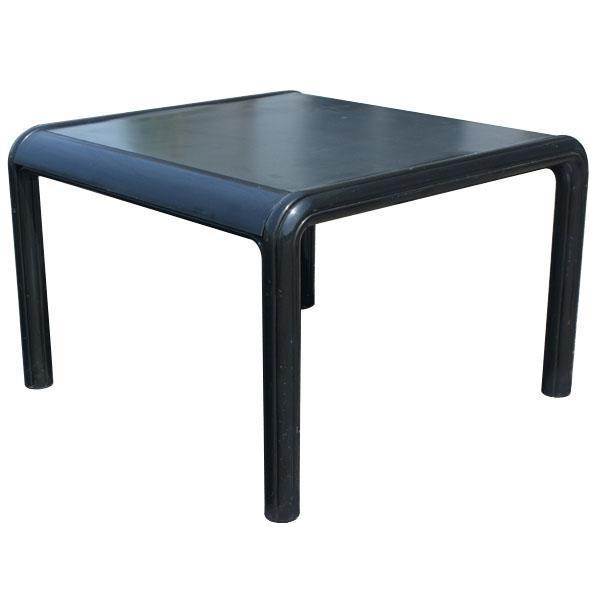 vintage knoll gae aulenti dining table u0026 leather chairs