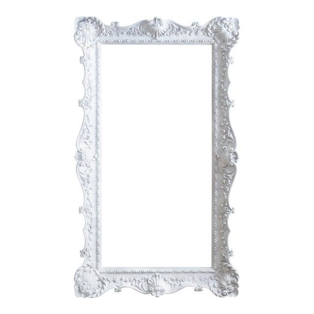 vintage extra large ornate white picture frame - Extra Large Frames