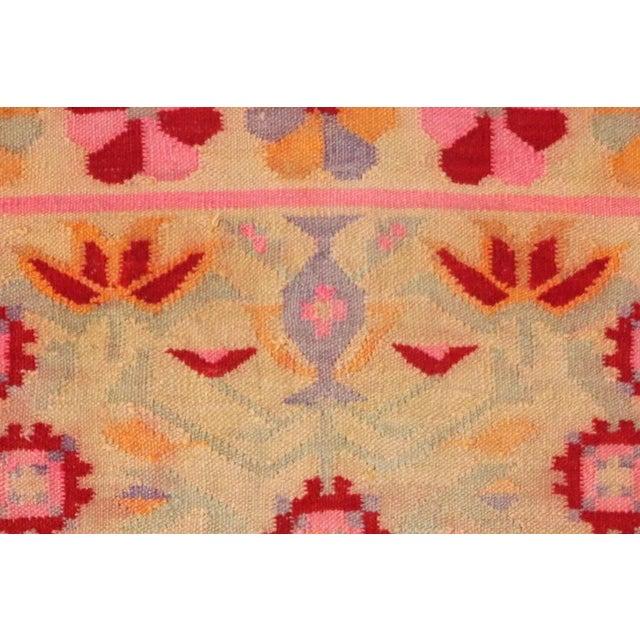 Fernanda Handmade Vintage Rug - 4′11″ × 6′9″ - Image 4 of 6