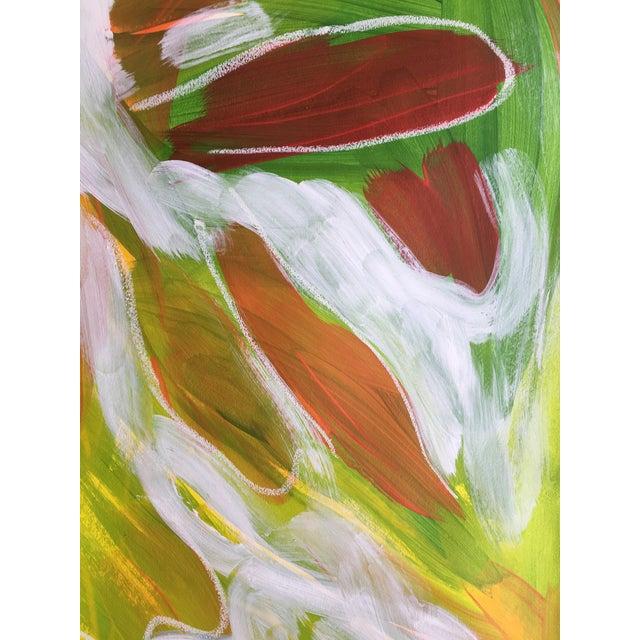 "Jessalin Beutler ""No. 75"" Mixed Media Painting - Image 5 of 5"