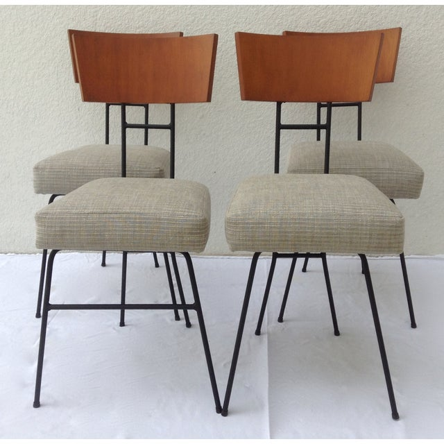 Paul McCobb Wood & Metal Chairs - Set of 4 - Image 4 of 11