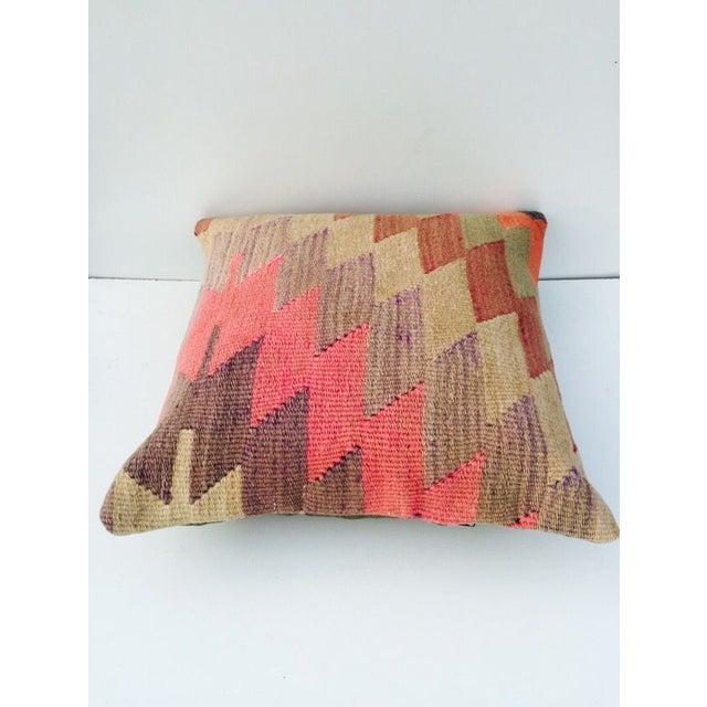 Vintage Turkish Kilim Pillow - Image 3 of 6