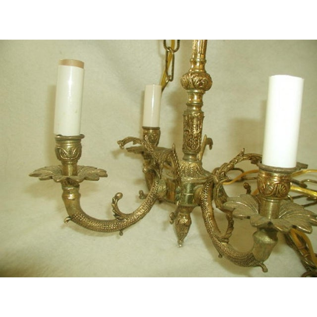 Early 20th-C. Spanish Brass Chandelier - Image 3 of 7