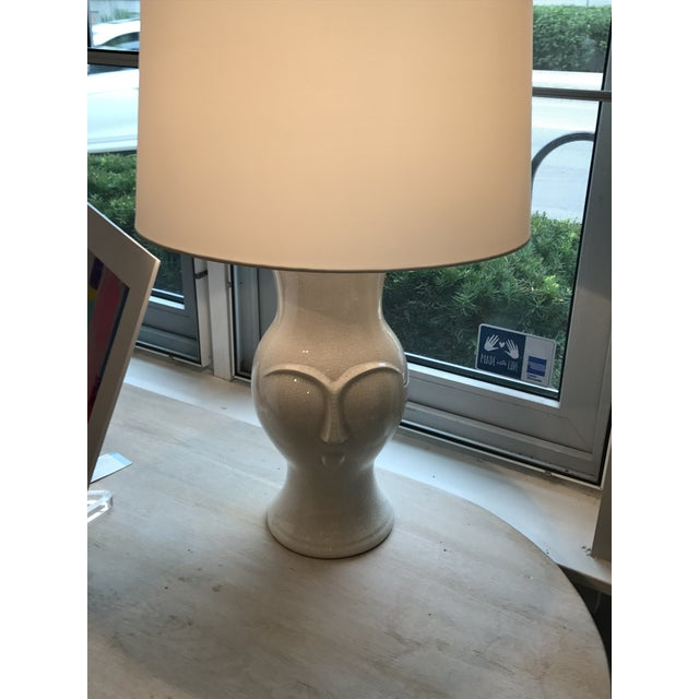 Arteriors Off-White Pauly Lamp - Image 3 of 6