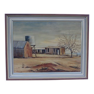 May Jones Australian Oil Painting