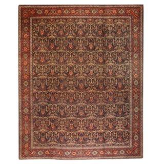 Antique Oversize 19th Century Persian Tabriz Carpet