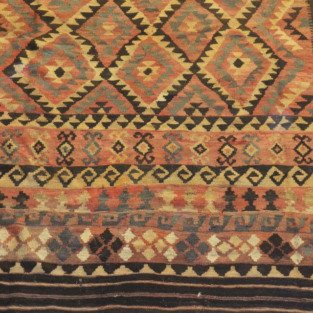 "Image of Leon Banilivi Large Afghan Kilim - 15'7"" X 10'"