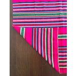 Image of Vintage Bolivian Handwoven Blanket