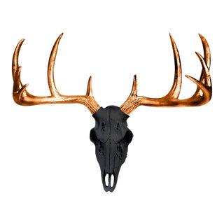 Wall Charmers Black & Metallic Bronze Antlers
