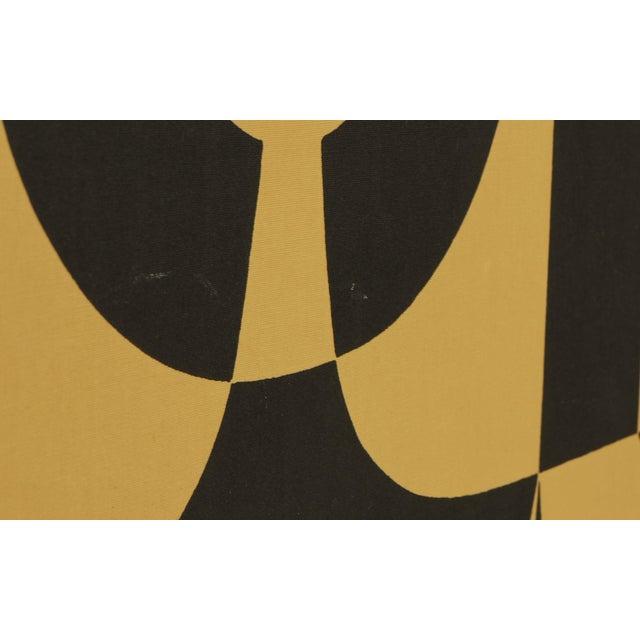 "Alexander Girard Man Woman ""Environmental Enrichment Panel"" Fabric Art, 1971 - Image 5 of 6"