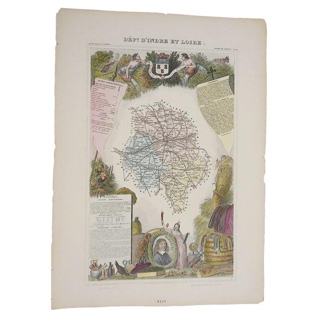 Antique Map Provinces France Engraving - Image 1 of 3