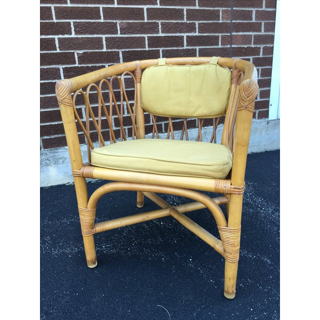 Vintage Ficks & Reed Rattan Barrel Chairs - 4 - Image 3 of 11