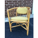 Image of Vintage Ficks & Reed Rattan Barrel Chairs - 4
