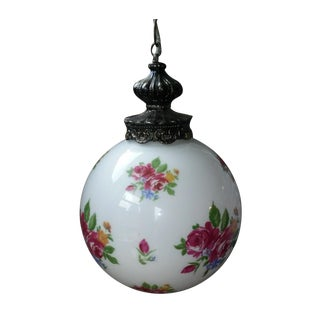 Vintage Flower Pendant Light