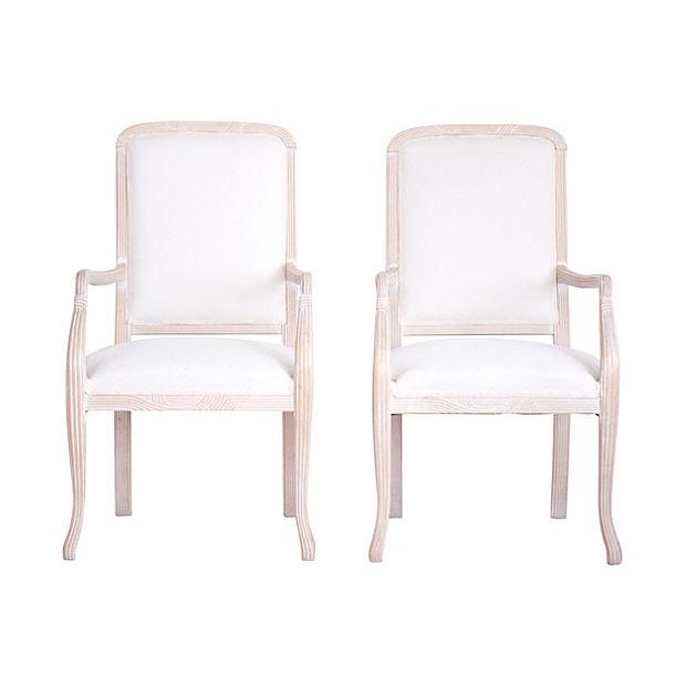 Italian Armchairs by Chateaux D'Ax - a Pair - Image 7 of 7