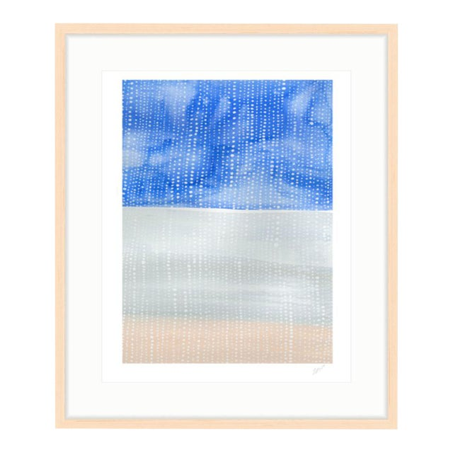 """Shorelines IV"" Watercolor Giclee Print - Image 1 of 5"