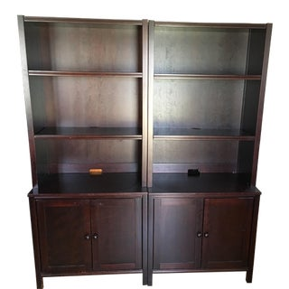 Pottery Barn Two-Piece Bookcase