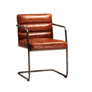 Retro Leather Arm Chair