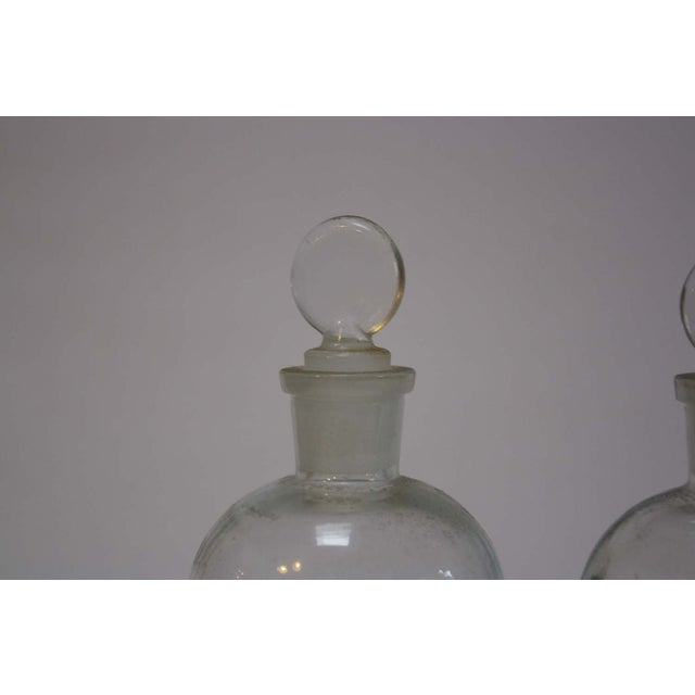 Image of Vintage Wheaton Apothecary Chemistry Bottles