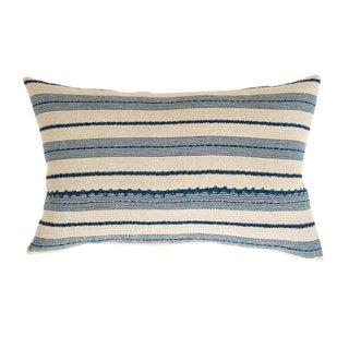 Tan & Indigo Guatemalan Ixcaco Pillow