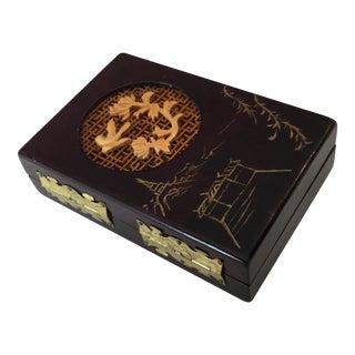 Asian Style Wood Box