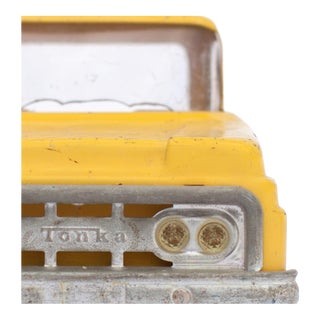 Yellow Truck Facing Forward Photograph