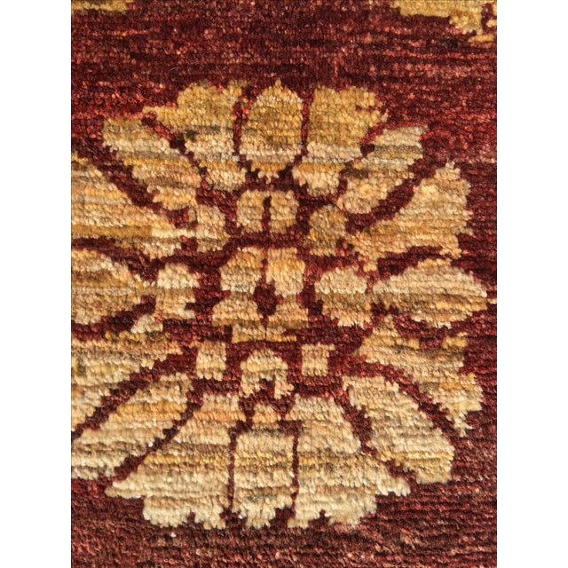 "Brand New Very Soft Turkish Oushak Rug - 5'5"" x 6' - Image 11 of 11"