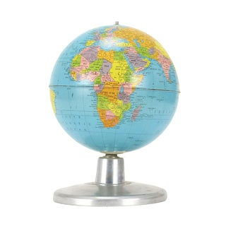 "Replogle Simplified 8"" Globe on Aluminum Base"