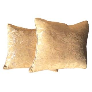 Designer Pillows in Decor De Paris Style Fabric