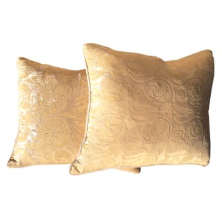 Designer Pillows in Decor De Paris Style Fabric